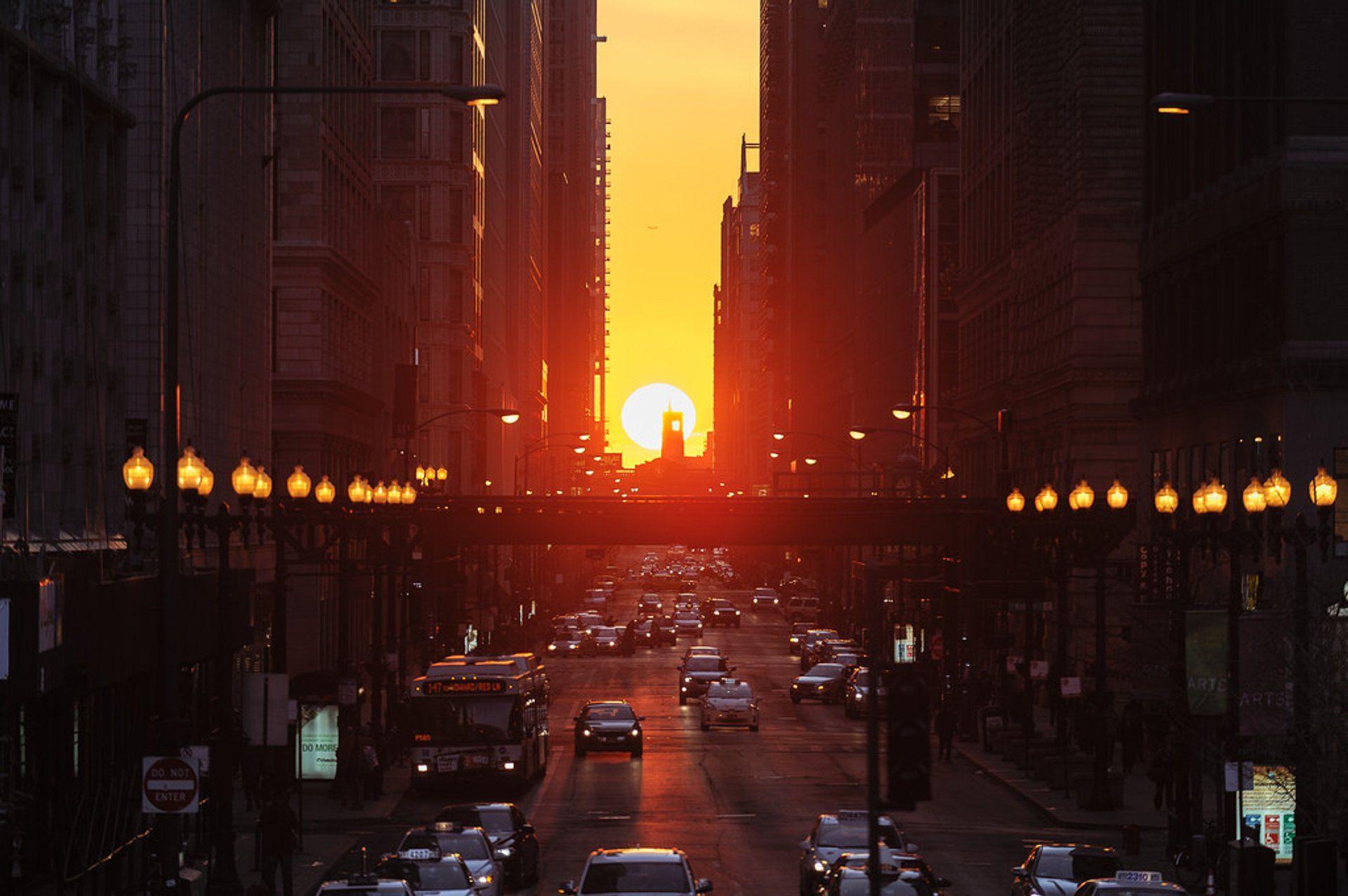 Осеннее равноденствие в Чикаго