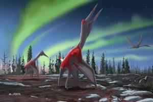 Палеонтологи обнаружили в Канаде останки нового вида птерозавров