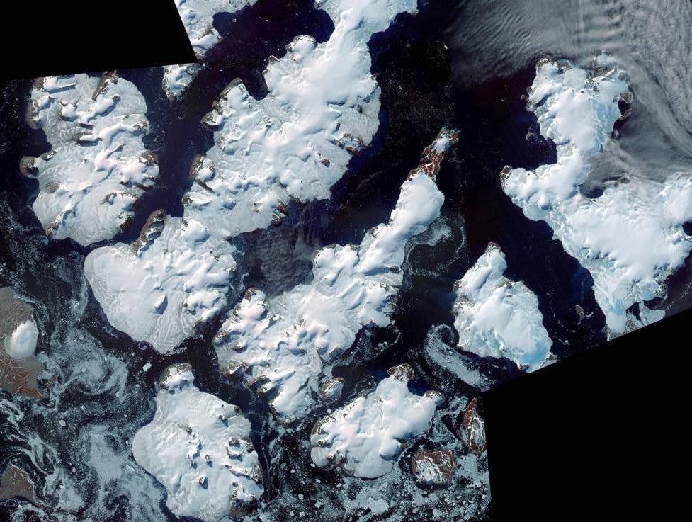 Благодаря таянию ледников у России появилось пять новых островов.Вокруг Света. Украина