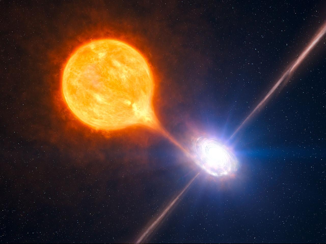 Отдаленная черная дыра меняет яркость каждые 9 часов - астрономы в недоумении.Вокруг Света. Украина