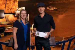 Брэд Питт получил «посадочный талон» на рейс до Марса