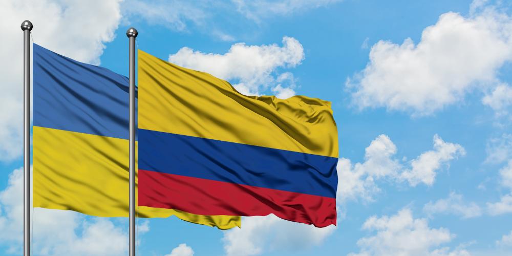 Украина заключила безвиз с Колумбией