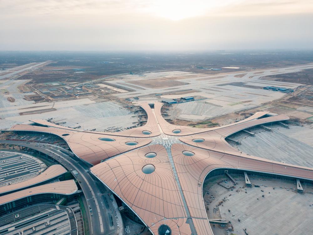 «Морская звезда» Дасин: в Пекине откроют еще один мега-аэропорт.Вокруг Света. Украина