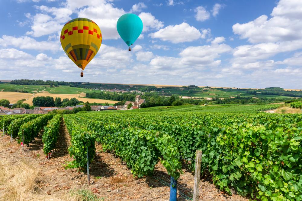 Во Франции проходит гонка на воздушных шарах - старейшая в мире