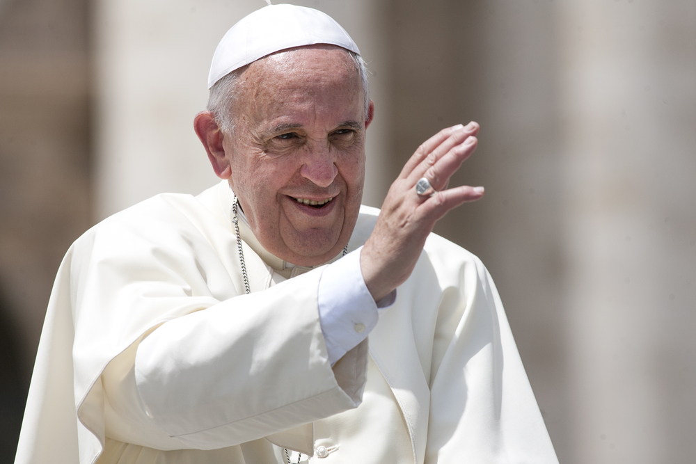 Папа Римский произнес речь о грядущей климатической катастрофе