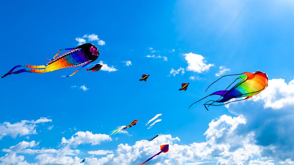 В Австралии состоялся фестиваль воздушных змеев