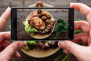 Смартфон оценит пользу еды  по фотографии