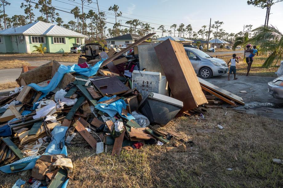 После урагана «Дориан» 1300 багамцев пропали без вести – уточненные данные