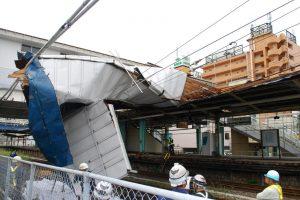 На Токио обрушился сверхмощный тайфун «Факсай»