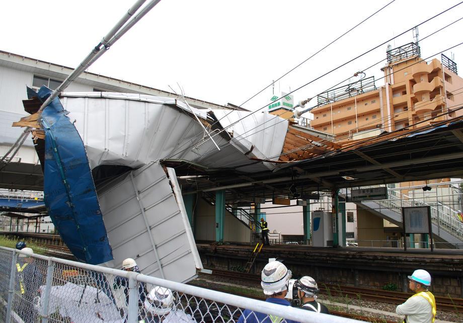 На Токио обрушился сверхмощный тайфун «Факсай».Вокруг Света. Украина
