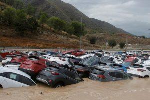 На курортах Испании прошли самые сильные дожди за 100 лет