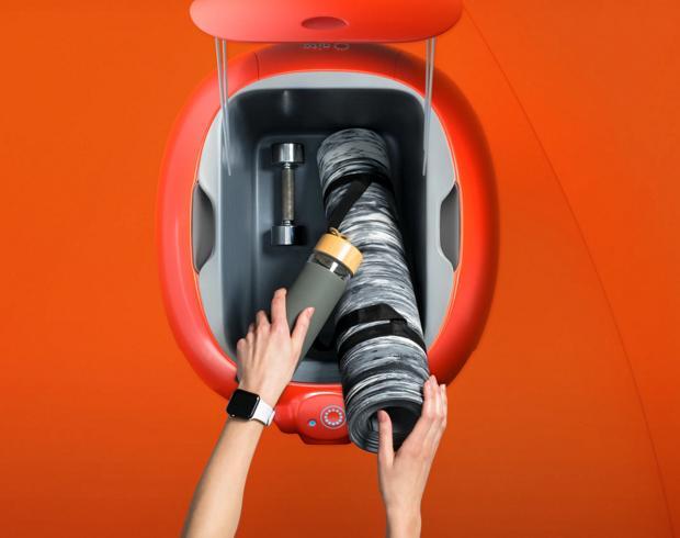 В Италии придумали персонального  робота-носильщика