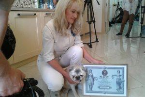 Умерла старейшая собака Украины. Ее звали Толстеньким Счастьем