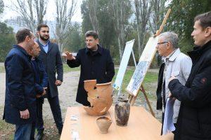 В Запорожье археологи обнаружили фрагменты крепости 18 века