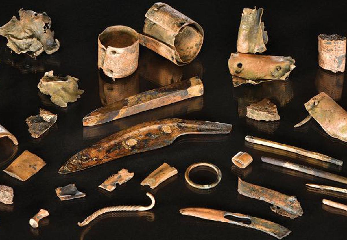 В Германии найден походный комплект доисторического воина.Вокруг Света. Украина