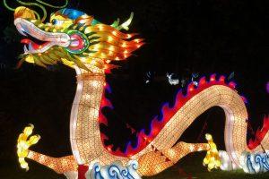 В Харькове стартовал фестиваль гигантских китайских фонарей