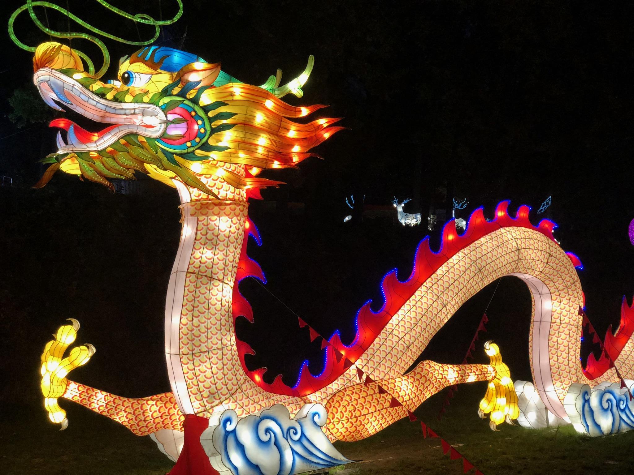 В Харькове стартовал фестиваль гигантских китайских фонарей.Вокруг Света. Украина
