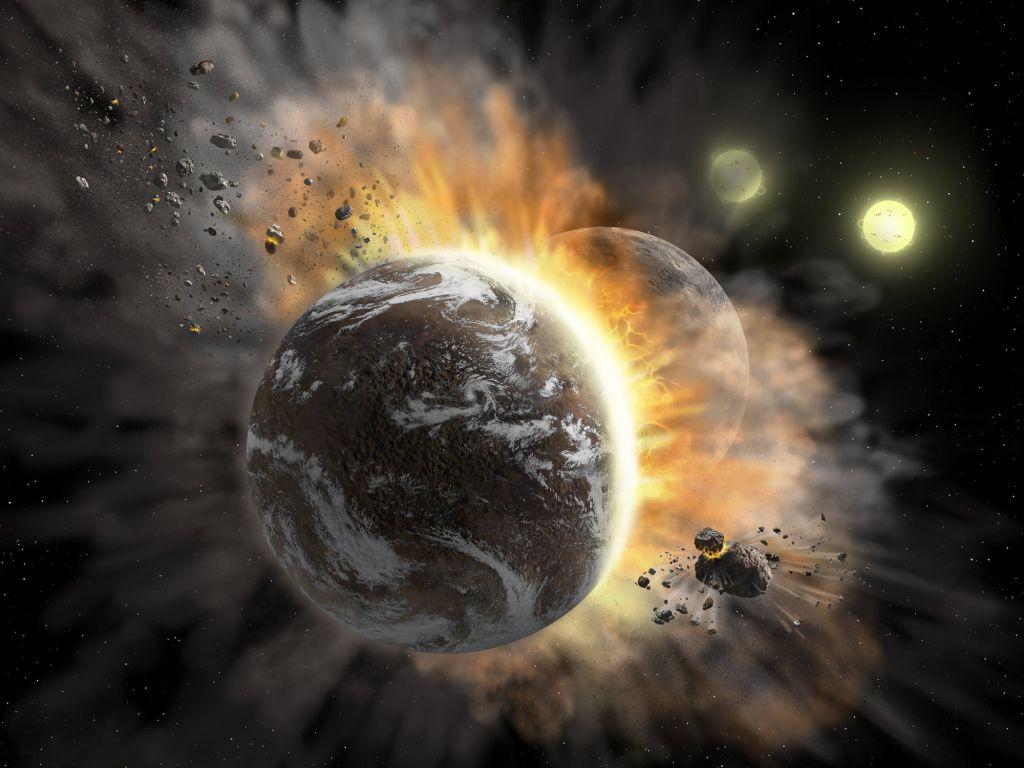 Астрономы обнаружили свидетельства недавнего столкновения экзопланет
