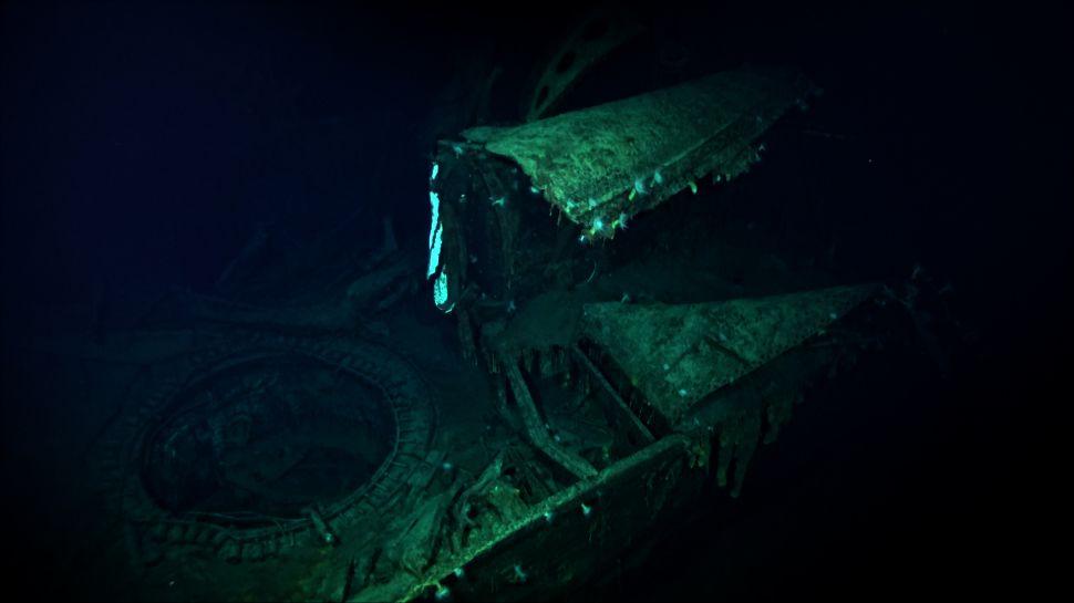 На дне Тихого океана обнаружили затерянный корабль времен Второй мировой