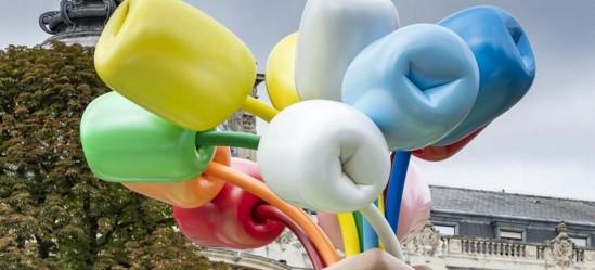 В Париже установили скандальную скульптуру Джеффа Кунса.Вокруг Света. Украина