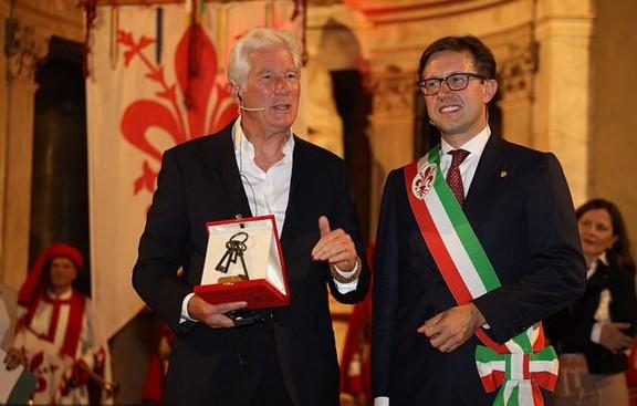 Ричард Гир получил ключи от Флоренции