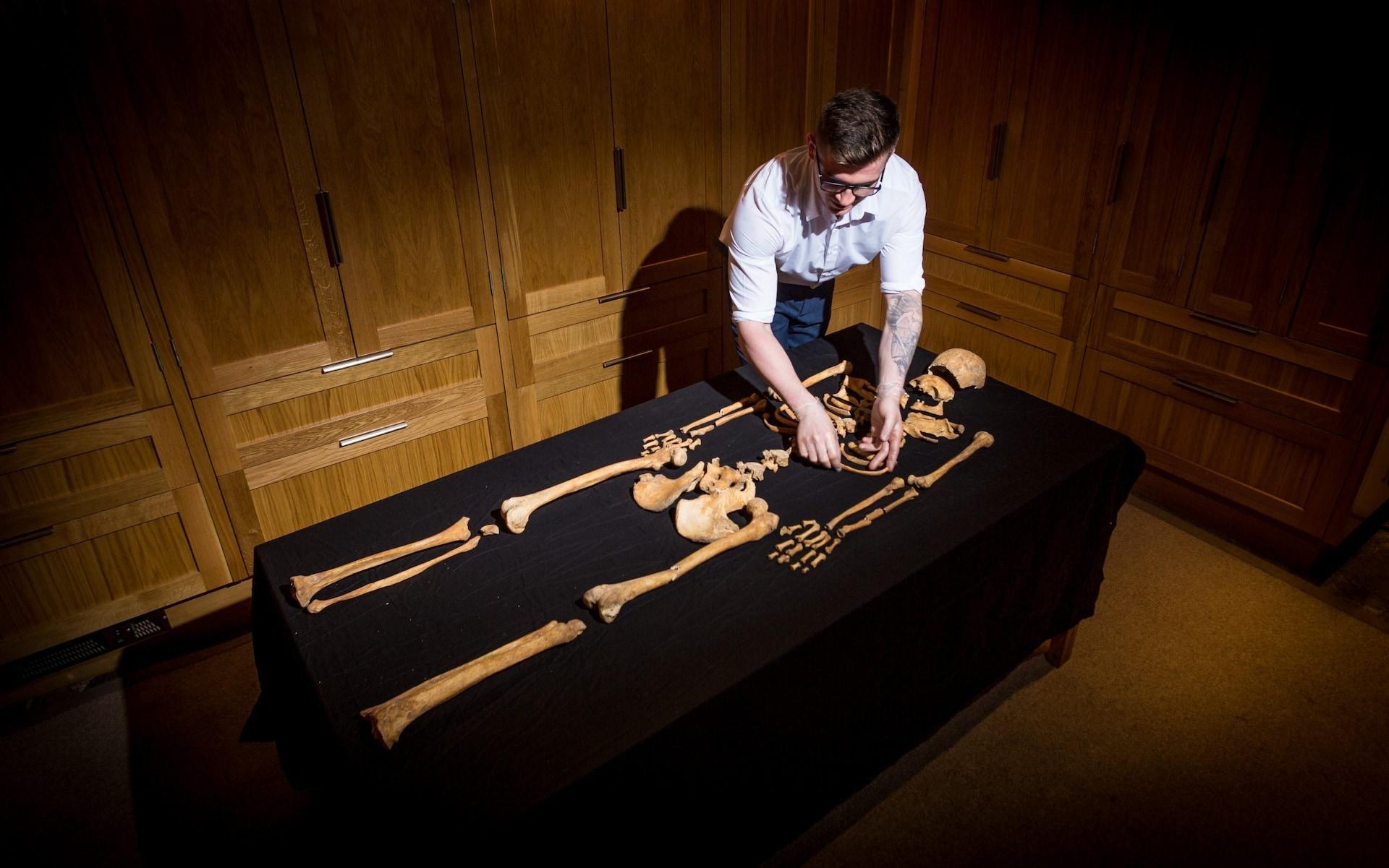 В Лондонском Тауэре впервые за полвека обнаружили человеческие скелеты