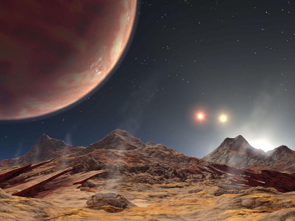 Астрономы ищут атмосферу на планете с тремя солнцами.Вокруг Света. Украина