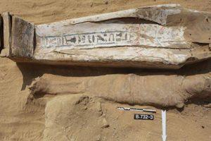 В Египте нашли захоронение с бессмысленными иероглифами на гробе