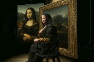 В Лувре оживили Джоконду в виртуальной реальности