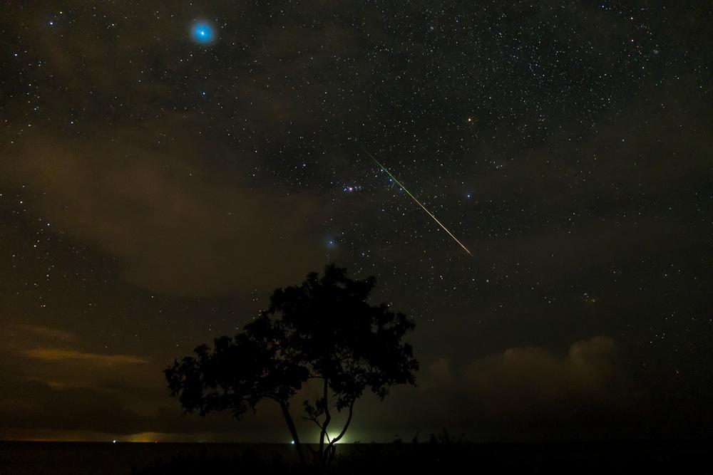 22 октября земляне увидят пик звездопада Ориониды.Вокруг Света. Украина