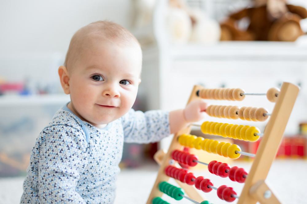 Дети учатся считать за годы до того, как узнают цифры