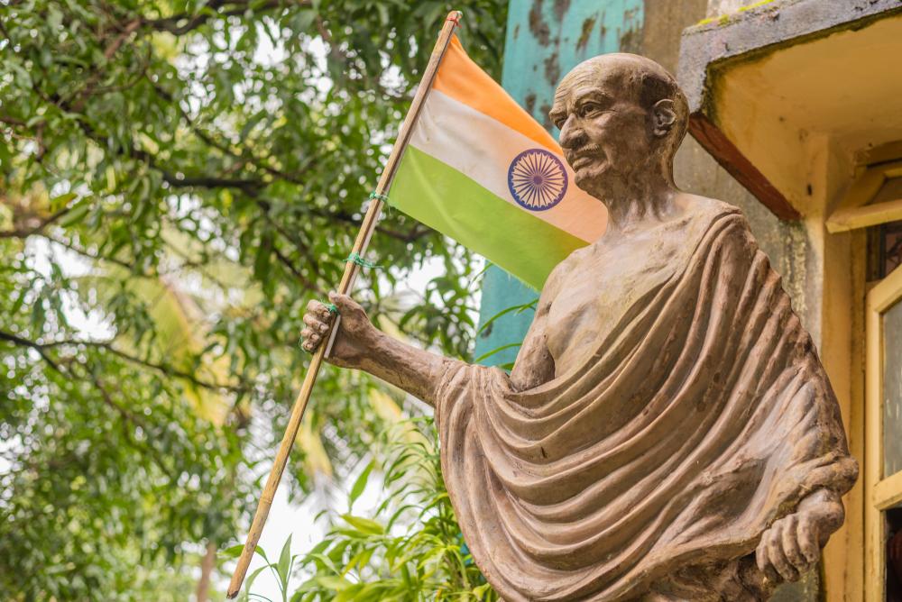 В Индии похитили урну с прахом Махатмы Ганди