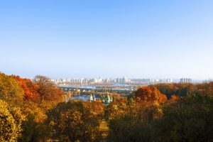 В Киеве установлен очередной погодный рекорд осени