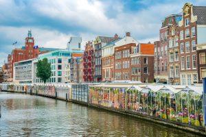 Единственный в мире плавучий цветочный рынок в Амстердаме уличили в мошенничестве