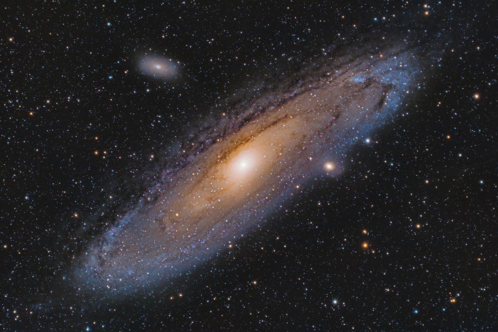 Галактика Андромеды может поглотить Млечный Путь