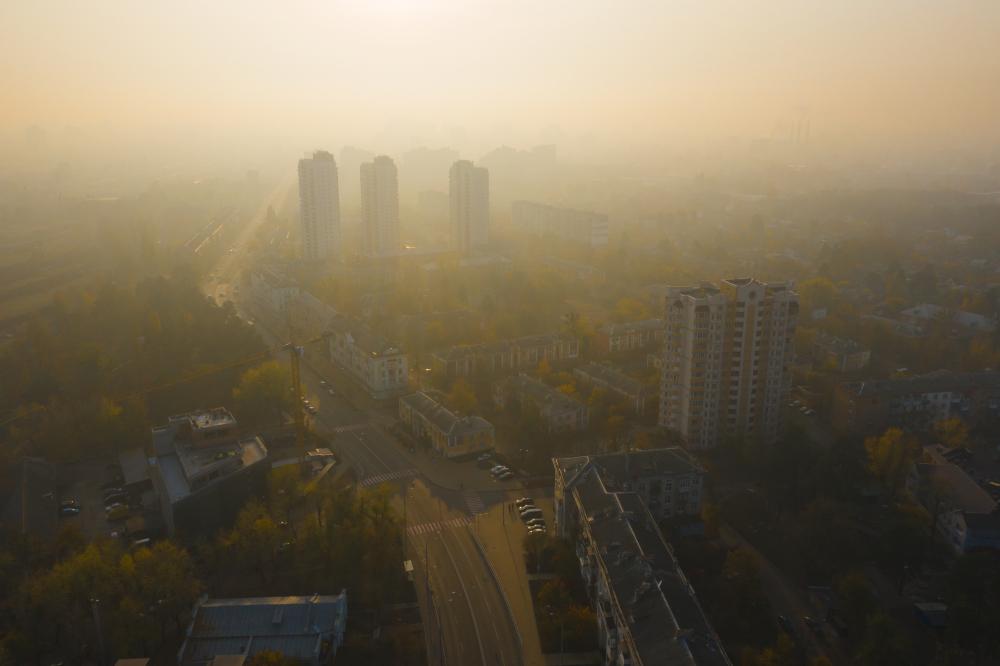Загрязнение воздуха в Украине: превышение норм обнаружено в 5 городах