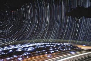 Астронавт НАСА сняла захватывающий таймлапс с МКС