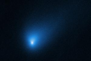 Телескоп Хаббл сделал снимок первой межзвездной кометы