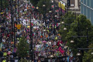 Полиция Лондона запретила климатические протесты