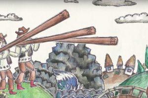 Группа ТНМК выпустила мультфильм об истории Украины