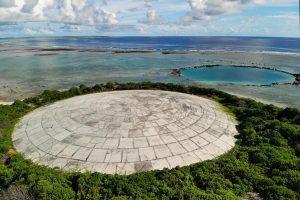 На Маршалловых островах разрушается хранилище радиоактивных отходов