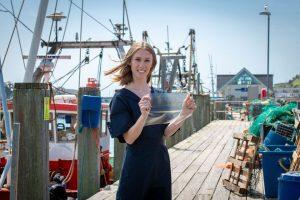 Британка изобрела пластик из рыбных отходов