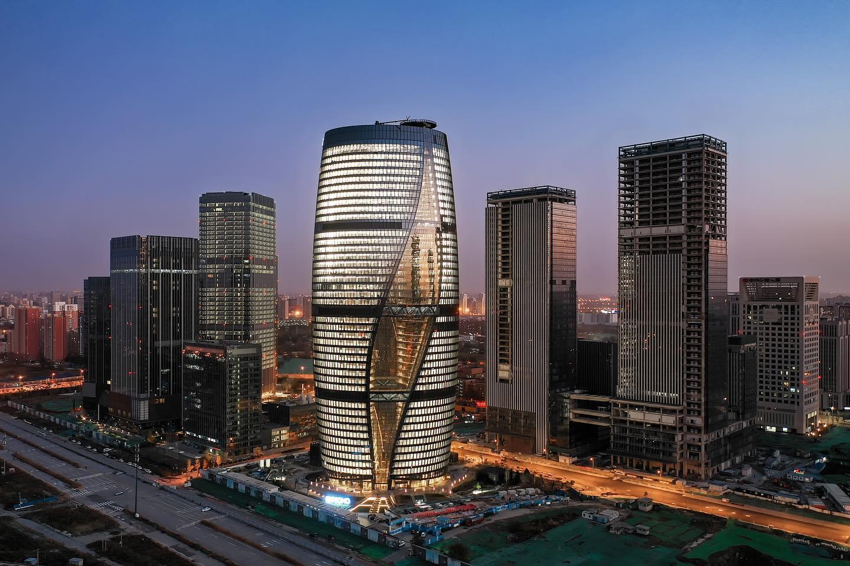 В Пекине вырос небоскреб с самым высоким в мире атриумом.Вокруг Света. Украина