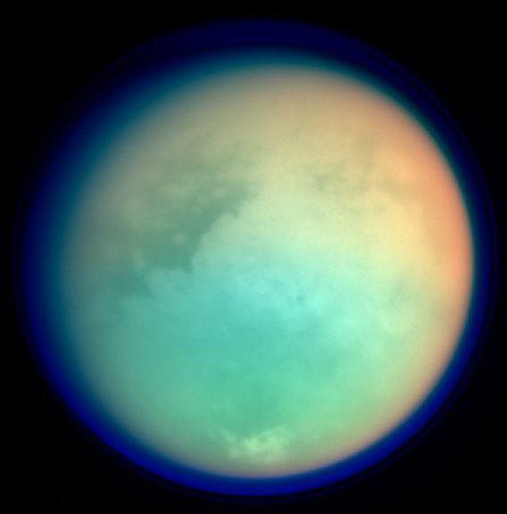 NASA выпустило первую геологическую карту Титана