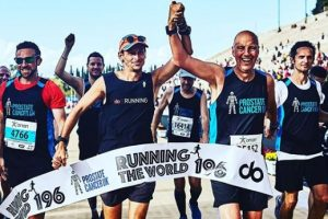 Британец пробежал марафон в каждой стране мира