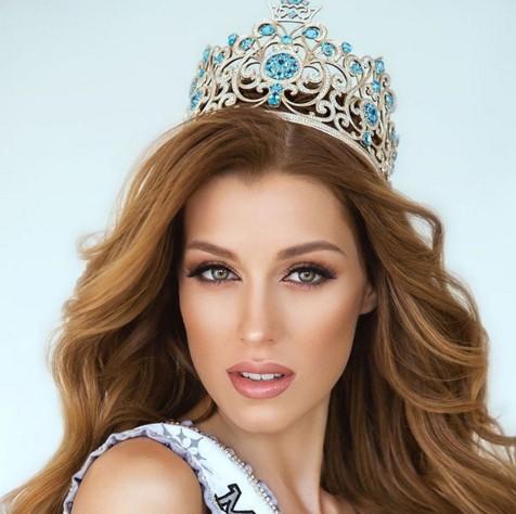 Мисс Украина-Вселенная повезла в США удивительный наряд