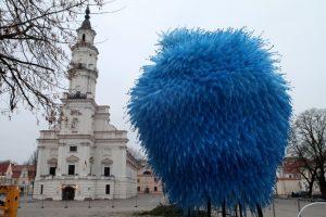 В Каунасе городскую елку украсят переработанным пластиком