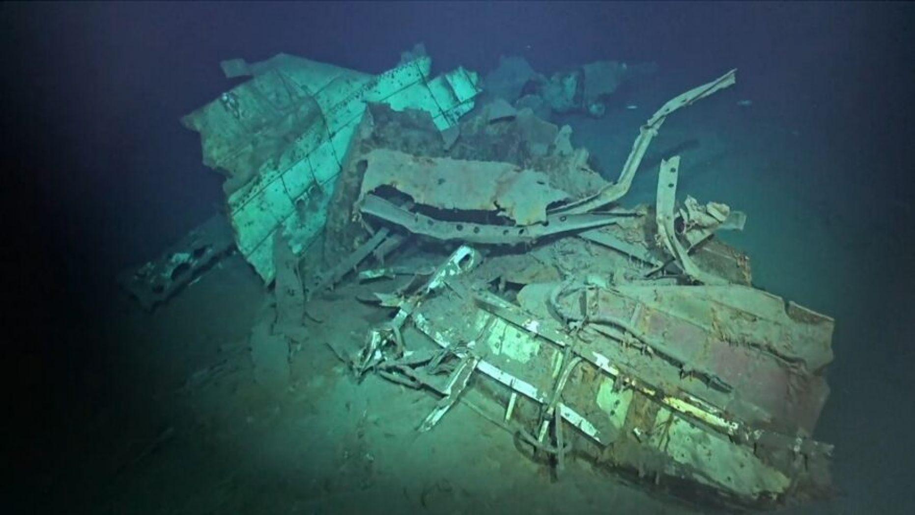 Обнаружен затонувший корабль на рекордной глубине