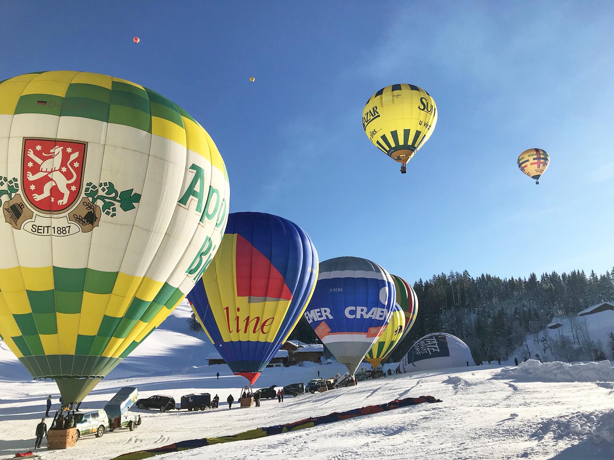 Под Киевом пройдет рождественский фестиваль воздушных шаров