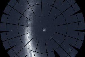Мириады звезд появились на карте благодаря TESS